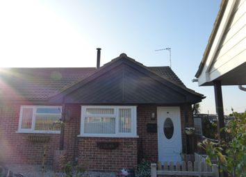 Thumbnail 2 bed detached bungalow for sale in Ostend Road, Walcott, Norwich