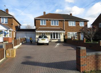 Thumbnail 3 bed semi-detached house for sale in Kent Road, Wednesbury