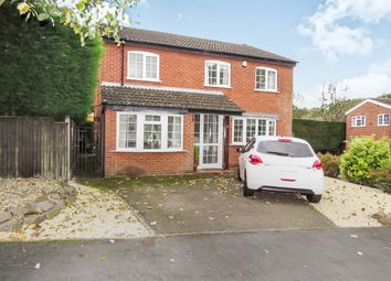 Thumbnail 4 bedroom detached house for sale in Pennine Close, Oadby, Leicester