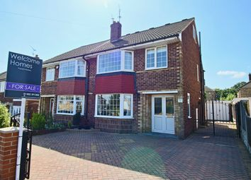 Thumbnail 4 bed semi-detached house for sale in St Pauls Parade, Scawsby, Doncaster