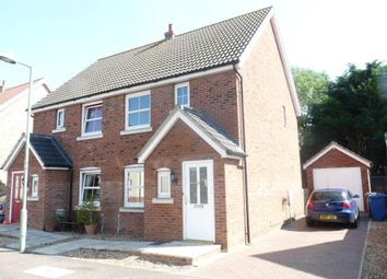 Thumbnail 2 bed semi-detached house to rent in Blenheim Close, West Row
