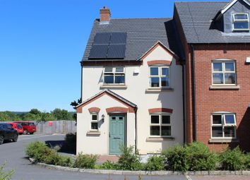 Thumbnail 3 bed town house for sale in Baron Close, Hugglescote, Coalville