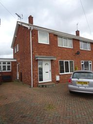 Thumbnail 3 bed semi-detached house to rent in Sandal Rise, Thorpe Audlin, Pontefract
