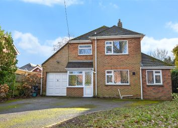 Thumbnail 4 bed detached house for sale in Farm Road, West Moors, Ferndown, Dorset