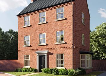 """Thumbnail 4 bed link-detached house for sale in """"The Moulton"""" at Central Avenue, Brampton, Huntingdon"""