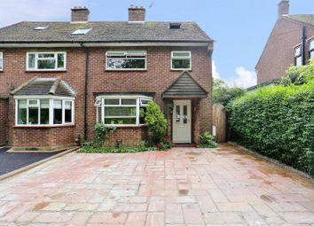 Thumbnail 4 bed semi-detached house for sale in Ash Road, Hartley, Longfield