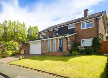 Thumbnail 4 bed detached house for sale in Malvern Drive, Altrincham