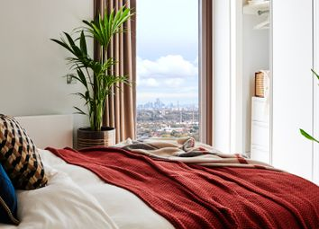 Thumbnail 1 bedroom flat to rent in Park Lane, Wembley, London