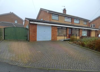 Thumbnail 4 bed semi-detached house for sale in Hinckley Road, St. Helens