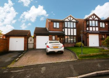 Thumbnail 3 bed detached house for sale in Orford Rise, Galley Common, Nuneaton