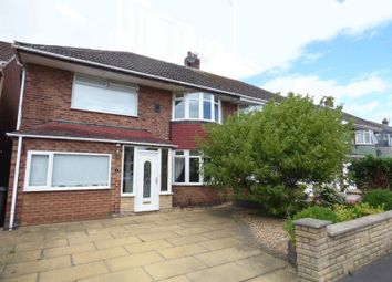 Thumbnail 4 bed semi-detached house for sale in Langdale Drive, Maghull, Liverpool