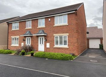 Thumbnail 4 bed semi-detached house for sale in Wendercliff Close, Bishops Cleeve, Cheltenham