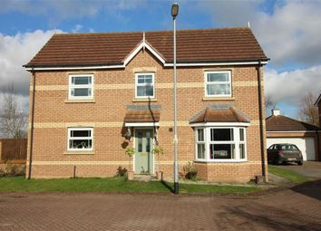 Thumbnail 4 bed detached house for sale in Plough Drive, Market Rasen