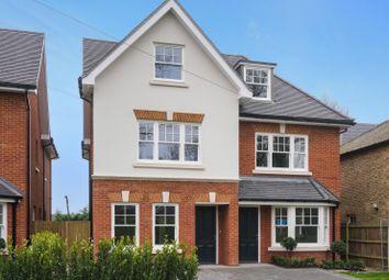 Thumbnail 3 bed semi-detached house for sale in Westcar Lane, Hersham, Walton