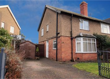 Thumbnail 3 bed end terrace house for sale in Meole Crescent, Meole Village, Shrewsbury