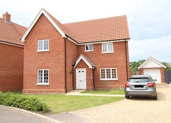 Thumbnail 4 bed detached house to rent in Simpson Way, Barrow, Bury St. Edmunds