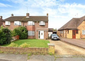 Thumbnail 3 bed semi-detached house for sale in Hazell Way, Stoke Poges, Buckinghamshire