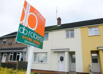 Thumbnail 3 bed terraced house for sale in Greenwood Grove, Stafford