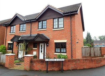 Thumbnail 3 bed semi-detached house for sale in Melrose Close, Farnborough, Hampshire