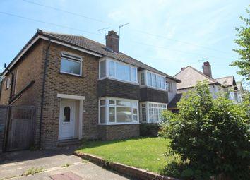 Thumbnail 4 bed semi-detached house to rent in Southdown Road, Bognor Regis