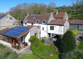Thumbnail 4 bed barn conversion for sale in Mudgley, Wedmore