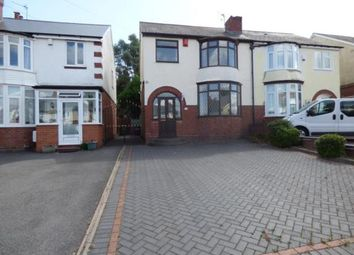 Thumbnail 3 bed semi-detached house for sale in Greenhill Road, Halesowen, West Midlands
