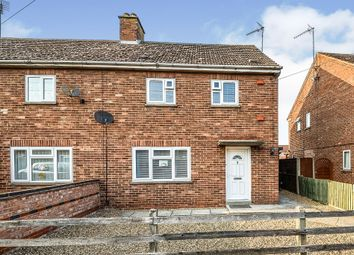 Thumbnail 2 bed semi-detached house for sale in Queen Elizabeth Avenue, Gaywood, King's Lynn