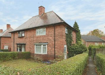 Thumbnail 3 bed semi-detached house for sale in Wilkinson Street, Whitemoor, Nottingham
