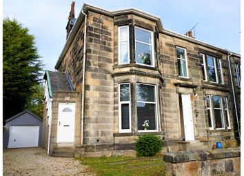 Thumbnail 4 bed flat for sale in Greenlaw Drive, Paisley