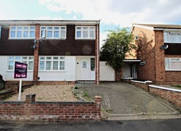 Thumbnail 3 bed semi-detached house for sale in Bamford Way, Romford