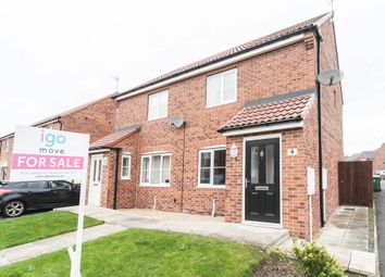 Thumbnail 2 bed semi-detached house for sale in Speedwell Close, Hartlepool