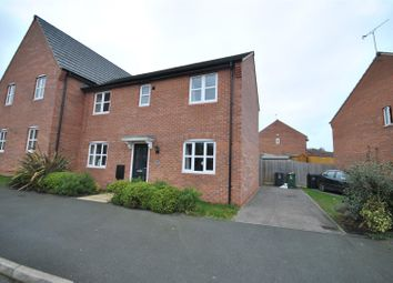 Thumbnail 3 bedroom semi-detached house to rent in Maxwell Drive, Loughborough
