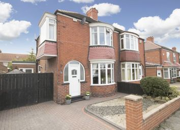 Thumbnail 3 bed semi-detached house for sale in Grosvenor Gardens, Normanby, Middlesbrough