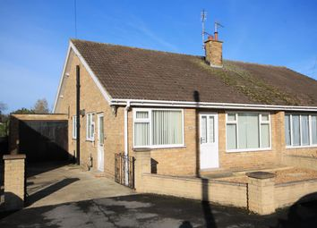 Thumbnail 2 bed semi-detached bungalow for sale in Carlton Avenue, Sowerby, Thirsk