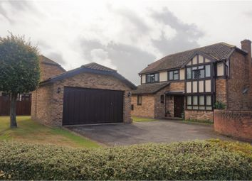 Thumbnail 4 bed detached house for sale in Parker Close, Ashford