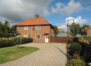 Thumbnail 3 bed semi-detached house for sale in Feltwell Road, Southery, Downham Market