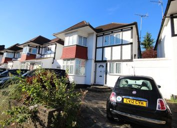 Thumbnail 4 bed detached house for sale in Hillcrest Avenue, Edgware, Middlesex