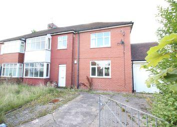 Thumbnail 3 bed semi-detached house for sale in Studholme Crescent, Penwortham, Preston