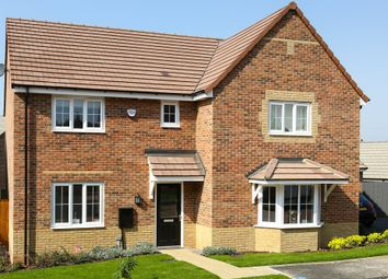 "Thumbnail 4 bedroom detached house for sale in ""Knightsbridge"" at Belvoir Road, Bottesford, Nottingham"