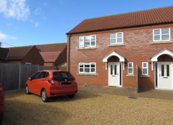 Thumbnail 3 bed semi-detached house for sale in Station Road, Dersingham, King's Lynn