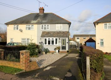 Thumbnail 3 bed semi-detached house for sale in Newton Green, Dunmow