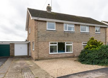 Thumbnail 3 bed semi-detached house for sale in Fosseway Avenue, Moreton In Marsh, Gloucestershire