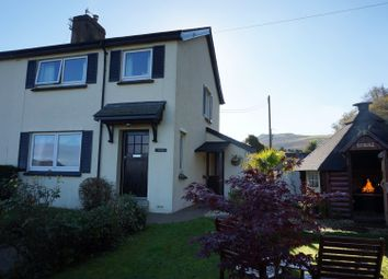 Thumbnail 3 bed semi-detached house for sale in Boduan, Pwllheli