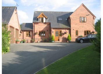 Thumbnail 3 bed detached house for sale in Llangyniew, Welshpool