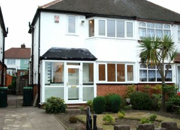 Thumbnail 2 bed semi-detached house to rent in Woden Road East, Wednesbury