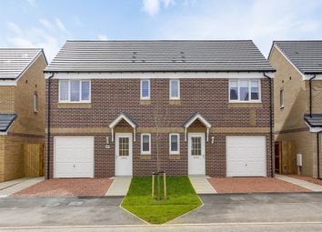 "Thumbnail 3 bedroom semi-detached house for sale in ""The Newton"" at Bank Court, Irvine"
