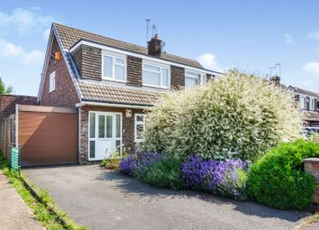 Thumbnail 4 bed semi-detached house for sale in Coles Close, Rushey Mead, Leicester