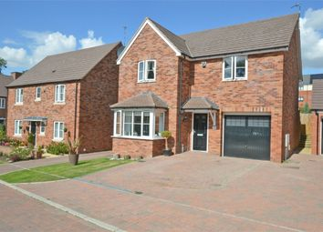 Thumbnail 4 bed detached house for sale in Swift Avenue, Eden Park, Rugby, Warwickshire
