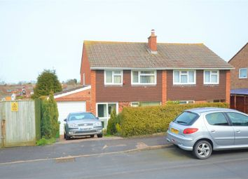 Thumbnail 3 bed semi-detached house for sale in Sullivan Road, Exeter, Devon