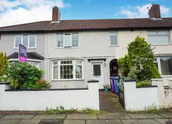 Thumbnail 3 bed terraced house for sale in Grieve Road, Liverpool